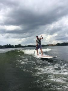 Todd skurfing